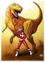 Power Rangers_ Mighty Morphin. by Troianocomics