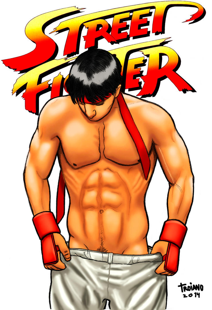 Ryu_Street Fighter. by Troianocomics