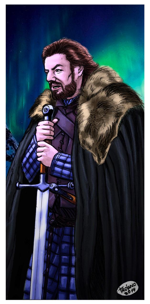 Eddard Stark. by Troianocomics
