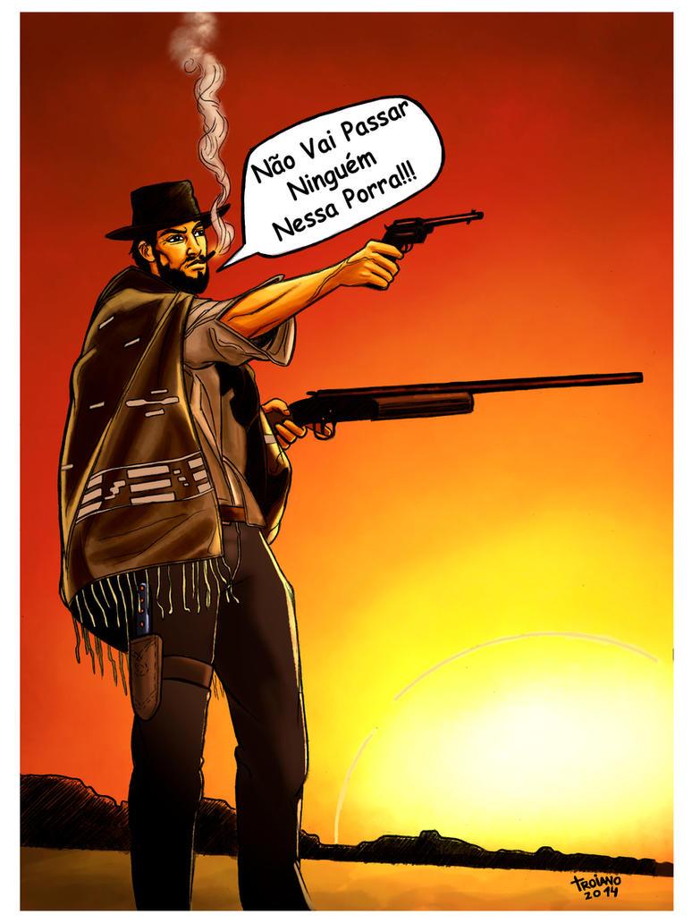 Clint Eastwood. by Troianocomics