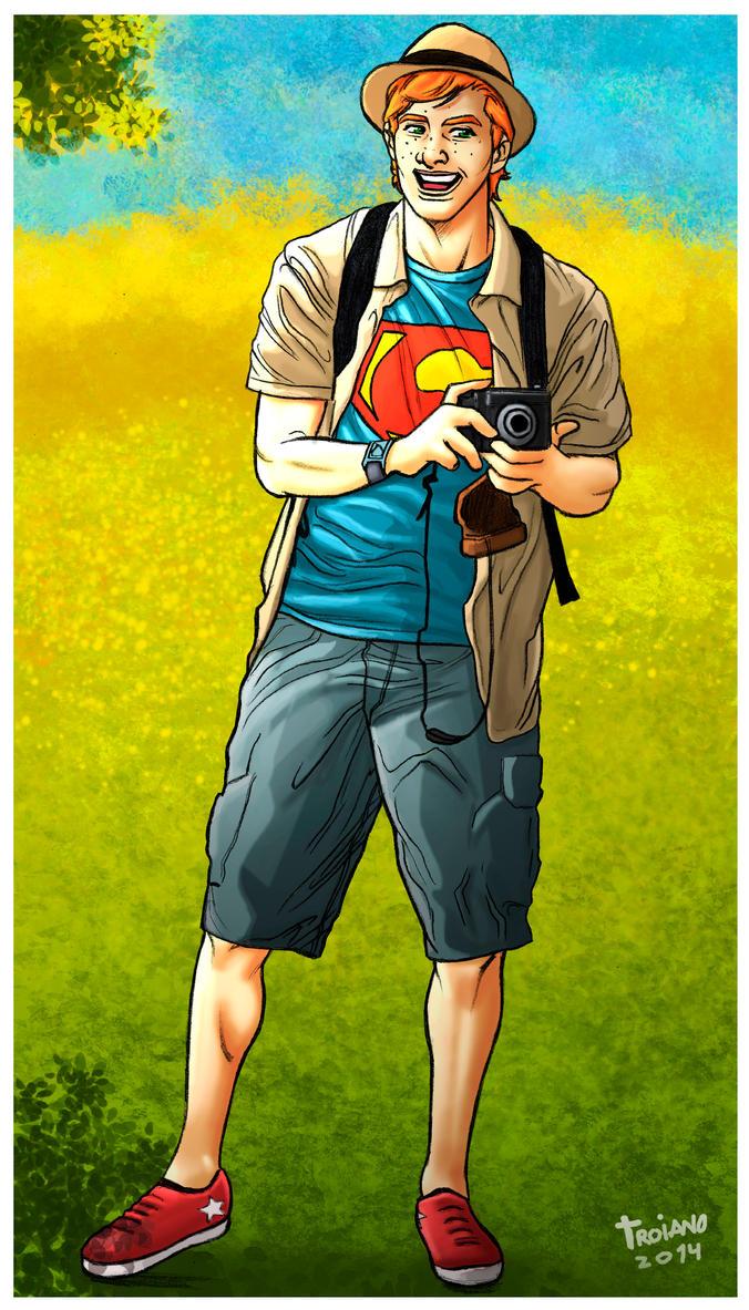 Jimmy  Olsen. by Troianocomics