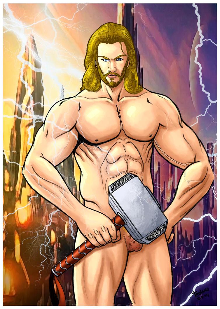 Thor. by Troianocomics