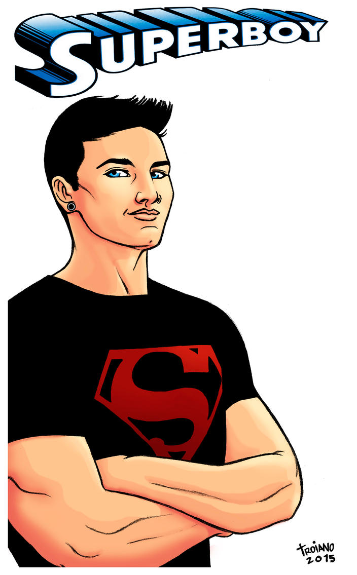 Superboy. by Troianocomics