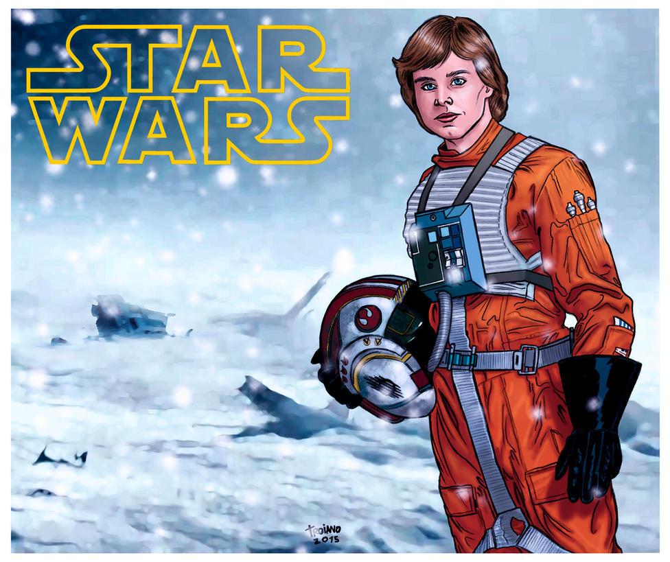 Luke Skywalker_Colors. by Troianocomics