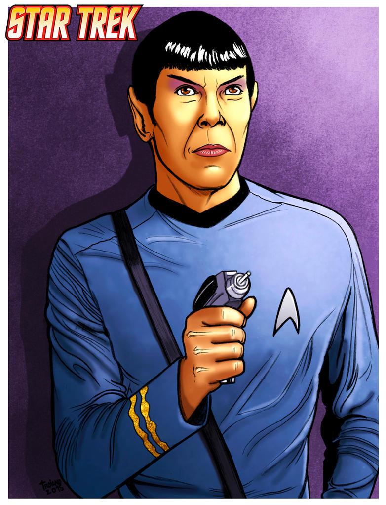 Spock_Star Trek. by Troianocomics