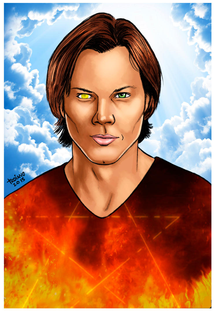 Supernatural Sam Winchester. by Troianocomics