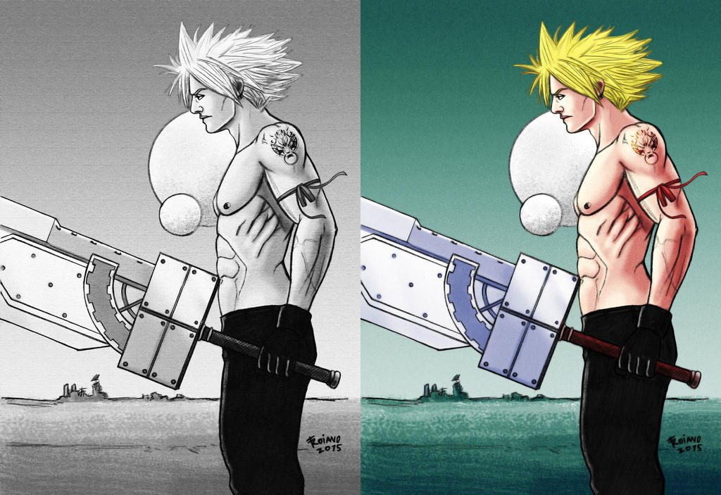 Cloud Strife Final Fantasy 7. by Troianocomics