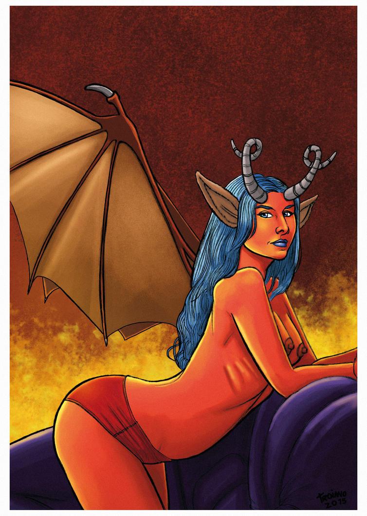 Hellgirl. by Troianocomics