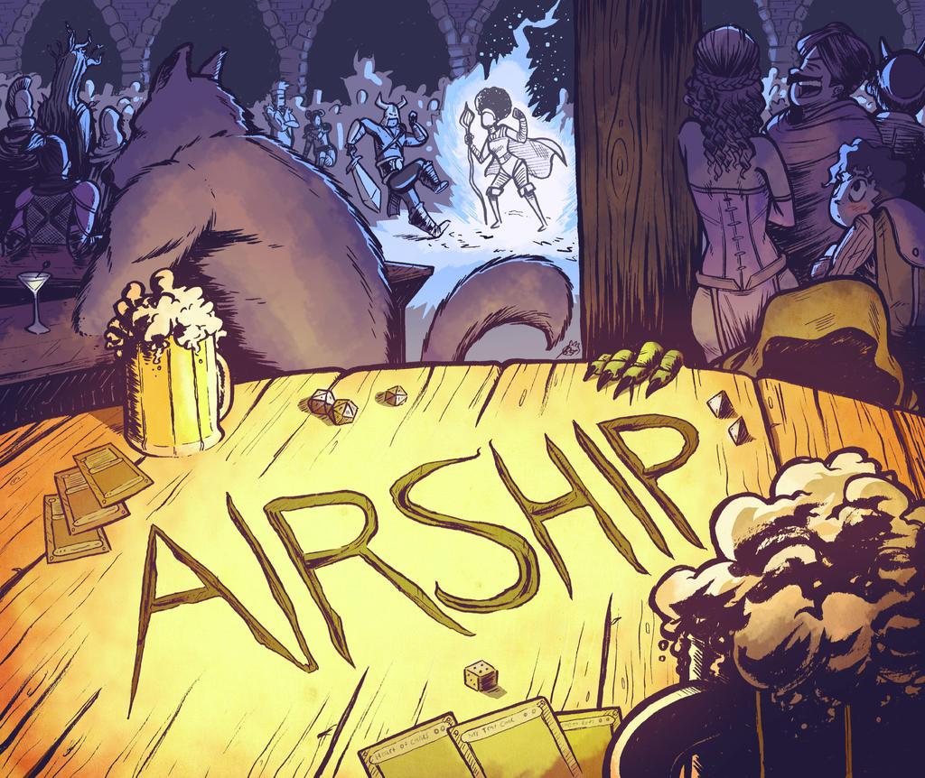 AIRSHIP - KickStarter Banner by PrinceBrian