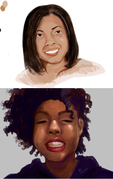 Sel Portrait by sana579