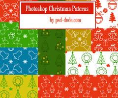 Photoshop Christmas Patterns