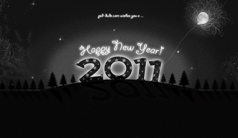 New Year 2011 Wallpaper