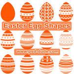 Egg Custom Shapes by PsdDude