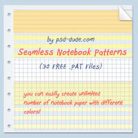 Notebook Pattern by PsdDude