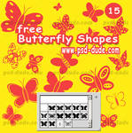 Butterfly Photoshop Shape