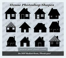 House Custom Shape by PsdDude