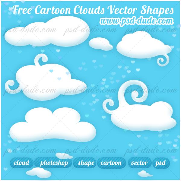 Free Cloud Custom Shapes