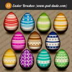 Easter Photoshop Egg Brushes