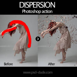Dispersion Free Photoshop Action