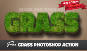 Grass Photoshop Generator Free Download by PsdDude