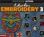 Embroidered Logo Photoshop Action