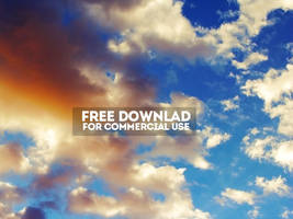 Free Clouds Texture for Commercial Use by PsdDude