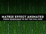 Matrix Free Animated Background