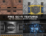 Free Sci-Fi Textures Commercial Use OK
