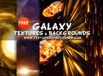 Free Galaxy Textures and Backgrounds