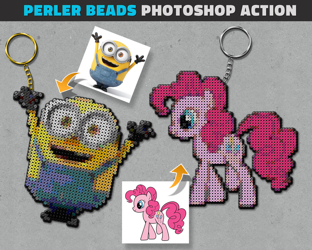 Perler Beads Photoshop Action by PsdDude on DeviantArt