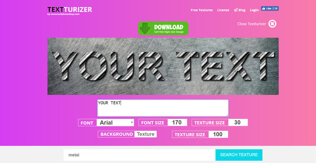 TEXTturizer Online Text Generator by PsdDude on DeviantArt