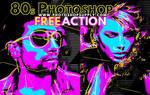 80s Photoshop Action Free