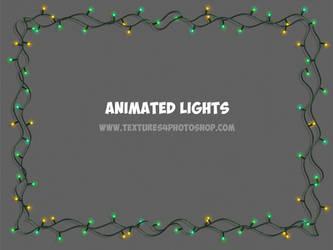 Free Christmas Lights GIF by PsdDude