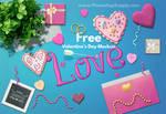 Valentines Day Mockup (FREE)