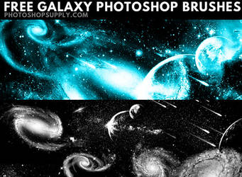 Space Brushes by PhotoshopSupply by PsdDude