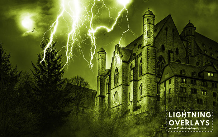 Free Lightnings by PhotoshopSupply by PsdDude