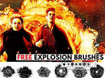 Explosion Brushes by PhotoshopSupply by PsdDude