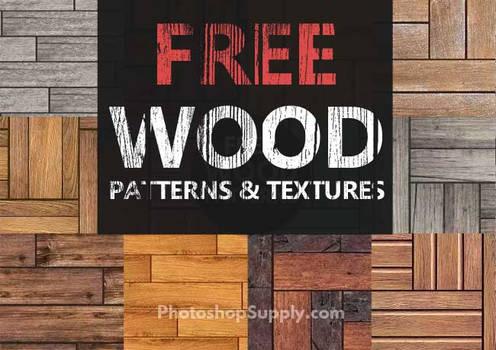 FREE Wood Patterns   PhotoshopSupply
