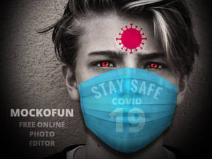 Coronavirus Mask Photo Editing