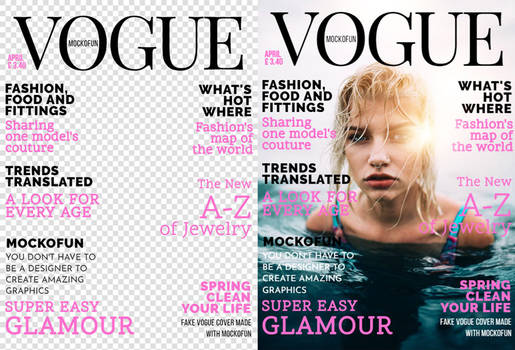 Vogue Cover PNG