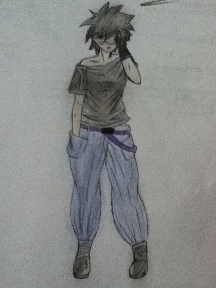 Anime Girl With Short Black Hair By Juju Mad Haven On Deviantart