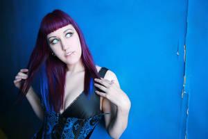 blue hallway2 by NatalieAddams