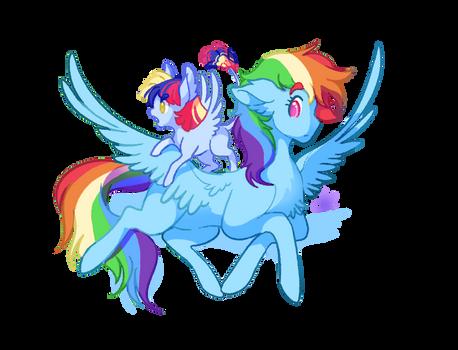Rainbow and Iris