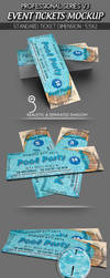 Event Tickets Mockup by idesignstudio