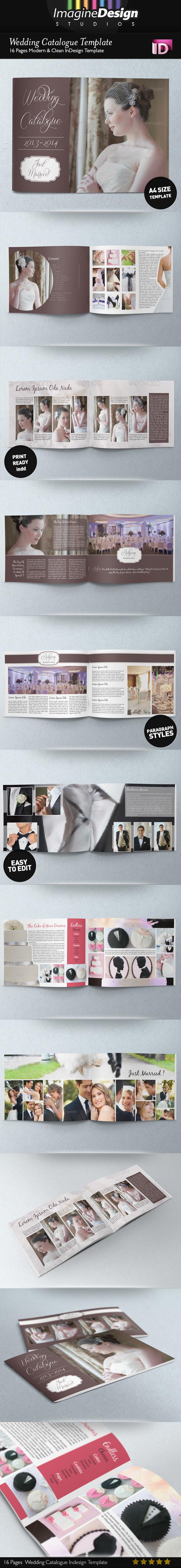 Wedding Catalogue Template