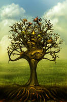Frog tree by 8025glome