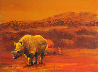 Rhino by 8025glome