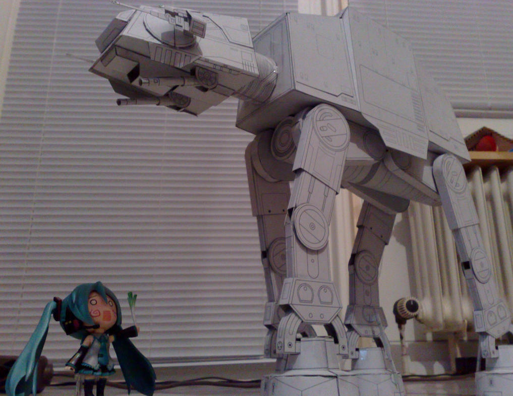 AT-AT Star Wars Papercraft by K4Z1