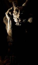 Gargoyle by black-amber