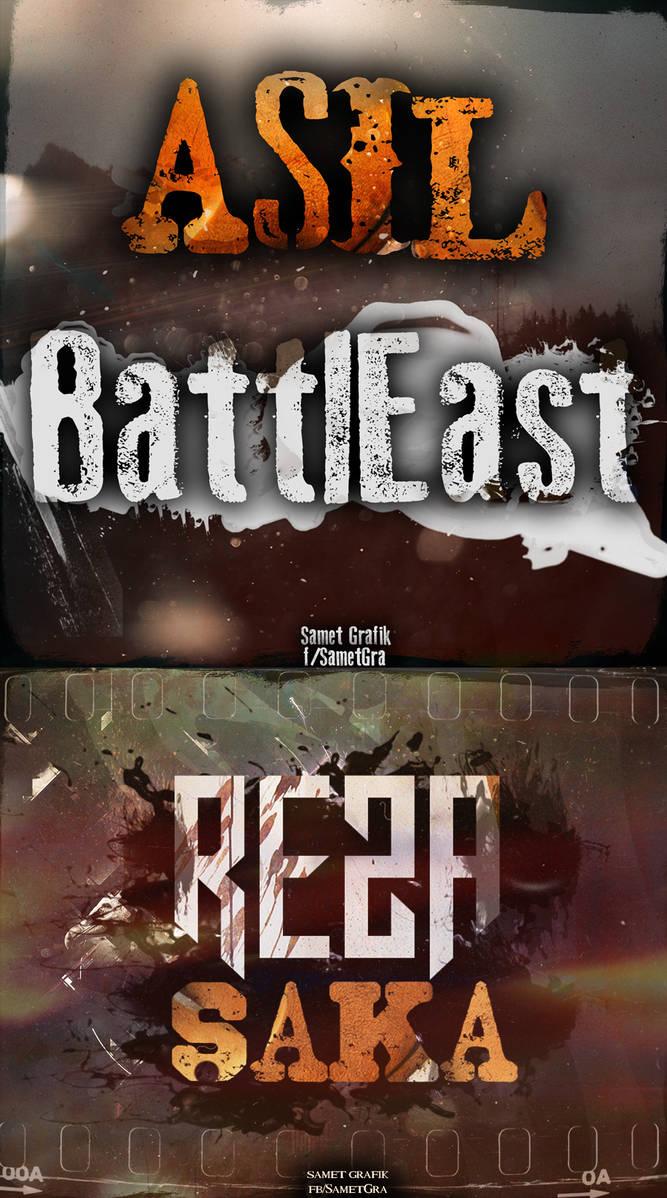 Saka,BattlEast COVERS